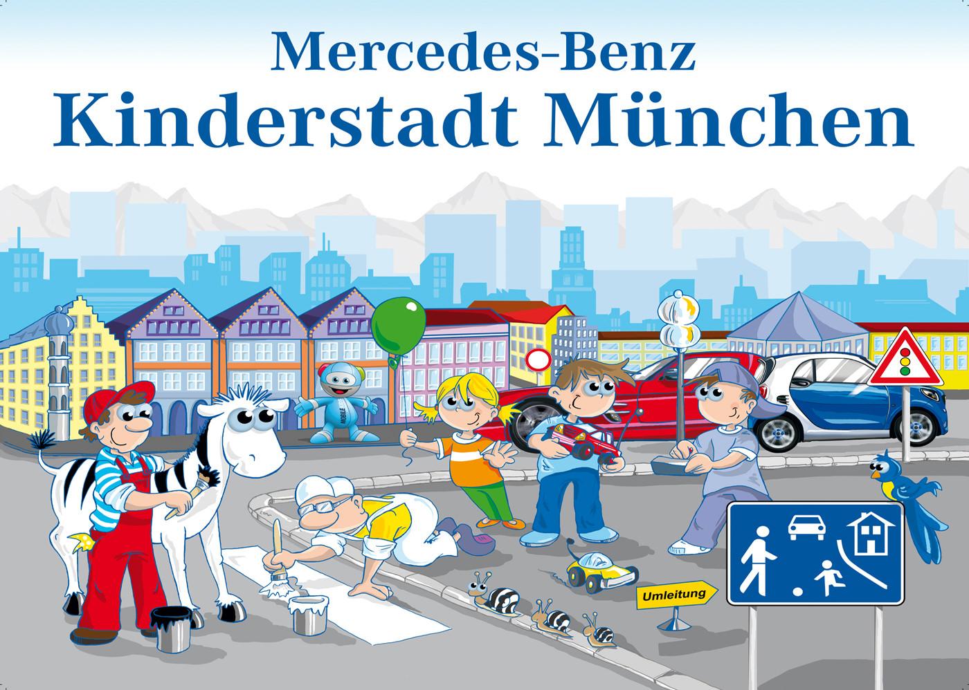 Ravernsburger Marken Erlebniswelt - Mercerdes Benz Kinderstadt